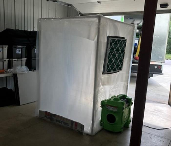 Decontamination Chamber - Mold Removal in Ottumwa