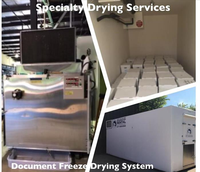 Document Freeze Drying