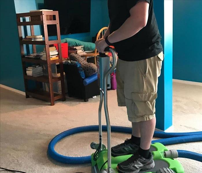 Removing Water from Carpet