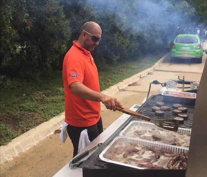 Why SERVPRO Water and Fire Referral Cook Outs