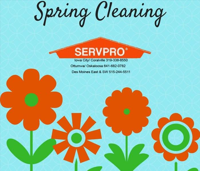 Cleaning Spring Cleaning will be a breeze when you contact SERVPRO of Ottumwa/Oskaloosa
